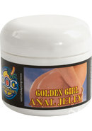 Golden Girl Desensitizing Anal Jelly Lubricant 2 Ounce